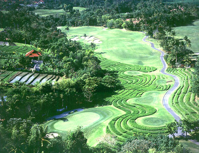 GOLF COURSE di TANAH LOT